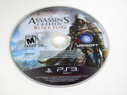 Assassin's Creed IV: Black Flag game for Sony PlayStation 3 -Loose
