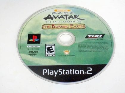 Avatar The Burning Earth game for Sony PlayStation 2 -Loose