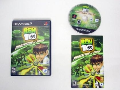 Ben 10 Protector of Earth game for Sony PlayStation 2 -Complete