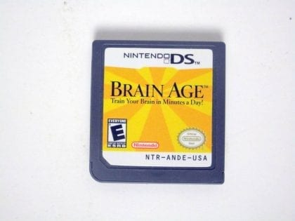 Brain Age game for Nintendo DS -Loose