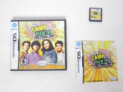 Camp Rock: The Final Jam  game for Nintendo DS -Complete