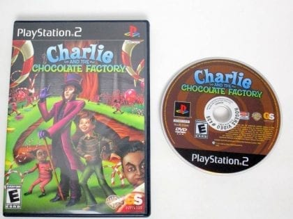 Charlie and the Chocolate Factory game for Sony PlayStation 2 -Game & Case