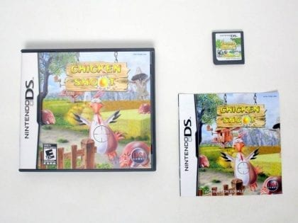 Chicken Shoot game for Nintendo DS -Complete