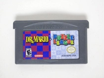 Dr. Mario / Puzzle League game for Nintendo Game Boy Advance -Loose