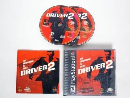 Driver 2 game for Sony PlayStation 1 -Complete