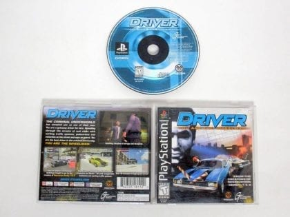 Driver game for Sony PlayStation 1 -Complete