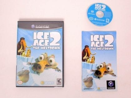 Ice Age 2 The Meltdown game for Nintendo GameCube -Complete