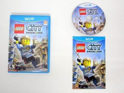 LEGO City Undercover game for Nintendo Wii U -Complete