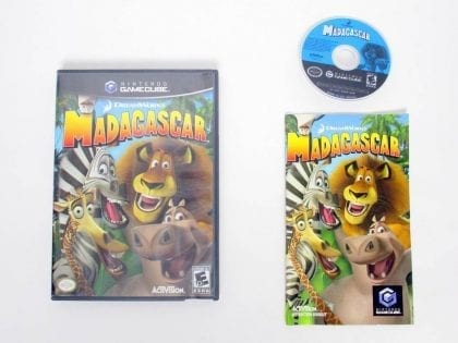 Madagascar game for Nintendo GameCube -Complete