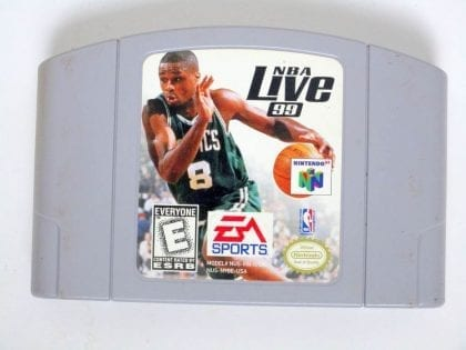 NBA Live 99 game for Nintendo 64 -Loose