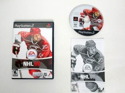 NHL 08 game for Sony PlayStation 2 -Complete