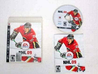NHL 09 game for Sony PlayStation 3 -Complete