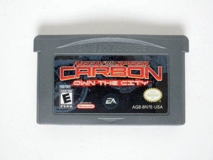 Need for Speed Carbon Own the City game for Nintendo Game Boy Advance -Loose