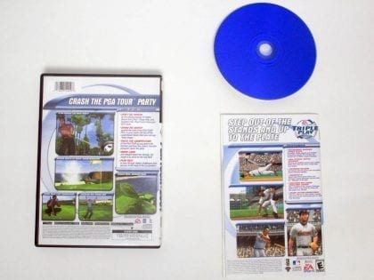 Tiger Woods 2001 game for Sony PlayStation 2   The Game Guy