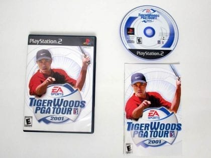 Tiger Woods 2001 game for Sony PlayStation 2 -Complete
