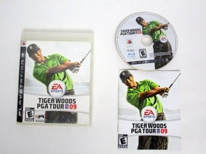 Tiger Woods 2009 game for Sony PlayStation 3 -Complete