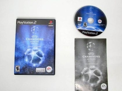 UEFA Champions League 2006-2007 game for Sony PlayStation 2 -Complete