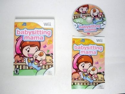 Babysitting Mama game for Nintendo Wii -Complete