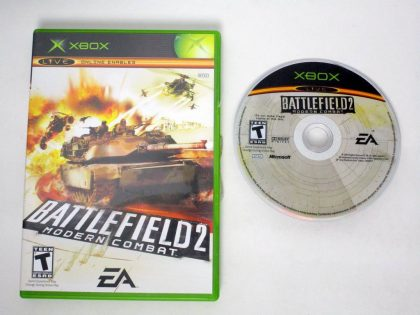 Battlefield 2 Modern Combat game for Microsoft Xbox -Game & Case