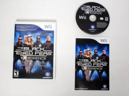 Black Eyed Peas Experience game for Nintendo Wii -Complete