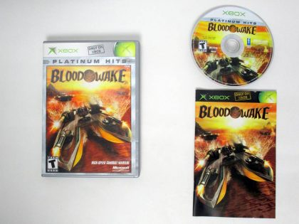 Blood Wake game for Microsoft Xbox -Complete
