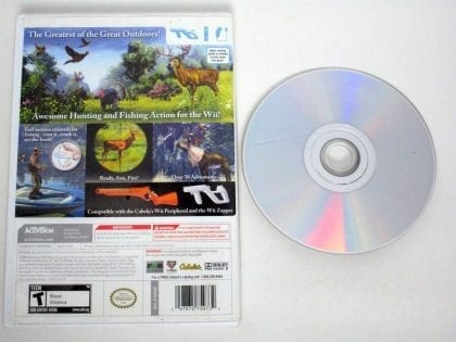 Cabela's Outdoor Adventures 2010 game for Nintendo Wii | The Game Guy