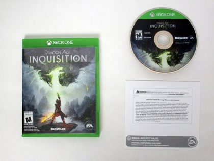 Dragon Age: Inquisition game for Microsoft Xbox One -Complete