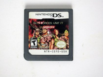 Elite Forces Unit 77 game for Nintendo DS -Loose