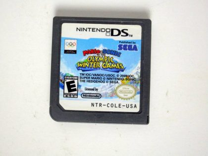 Mario and Sonic Olympic Winter Games game for Nintendo DS -Loose