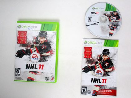 NHL 11 game for Microsoft Xbox 360 -Complete