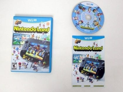 Nintendo Land game for Nintendo Wii U -Complete