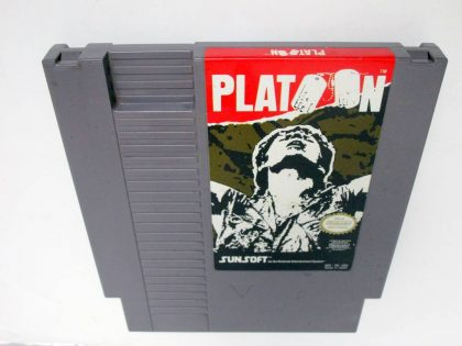 Platoon game for Nintendo NES -Loose