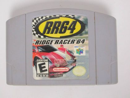 Ridge Racer 64 game for Nintendo 64 -Loose