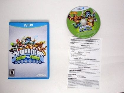 Skylanders Swap Force: Starter Pack game for Nintendo Wii U -Complete