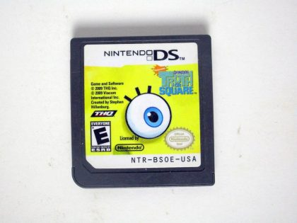 SpongeBob's Truth or Square game for Nintendo DS -Loose