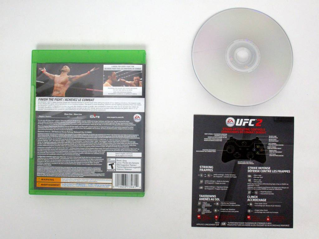 UFC 2 game for Microsoft Xbox One | The Game Guy