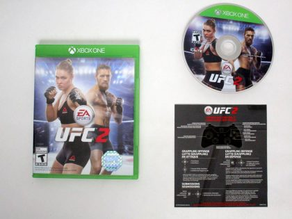 UFC 2 game for Microsoft Xbox One -Complete