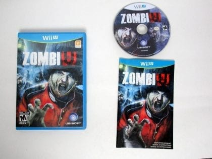 ZombiU game for Nintendo Wii U -Complete