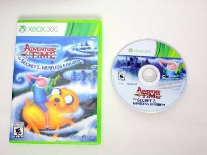Adventure Time: The Secret of the Nameless Kingdom game for Microsoft Xbox 360 -Game & Case
