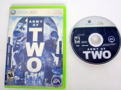 Army of Two game for Microsoft Xbox 360 -Game & Case
