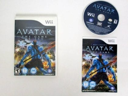 Avatar: The Game game for Nintendo Wii -Complete