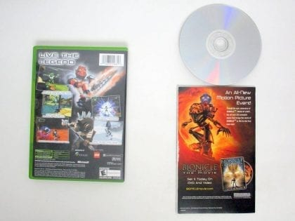 Bionicle game for Microsoft Xbox | The Game Guy