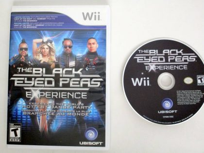 Black Eyed Peas Experience game for Nintendo Wii -Game & Case