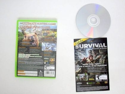 Cabela's Big Game Hunter 2012 game for Microsoft Xbox 360   The Game Guy