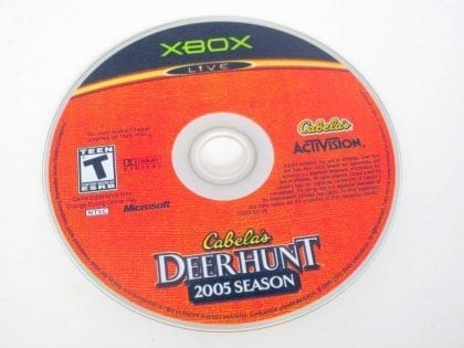 Cabela's Deer Hunt 2005 game for Microsoft Xbox -Loose