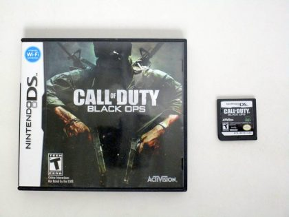 Call of Duty: Black Ops game for Nintendo DS -Game & Case