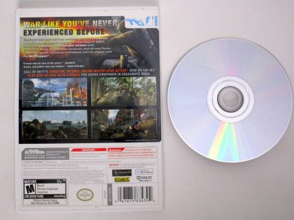 Call of Duty World at War game for Nintendo Wii | The Game Guy