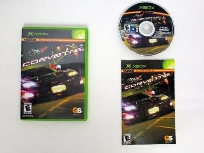Corvette game for Microsoft Xbox -Complete