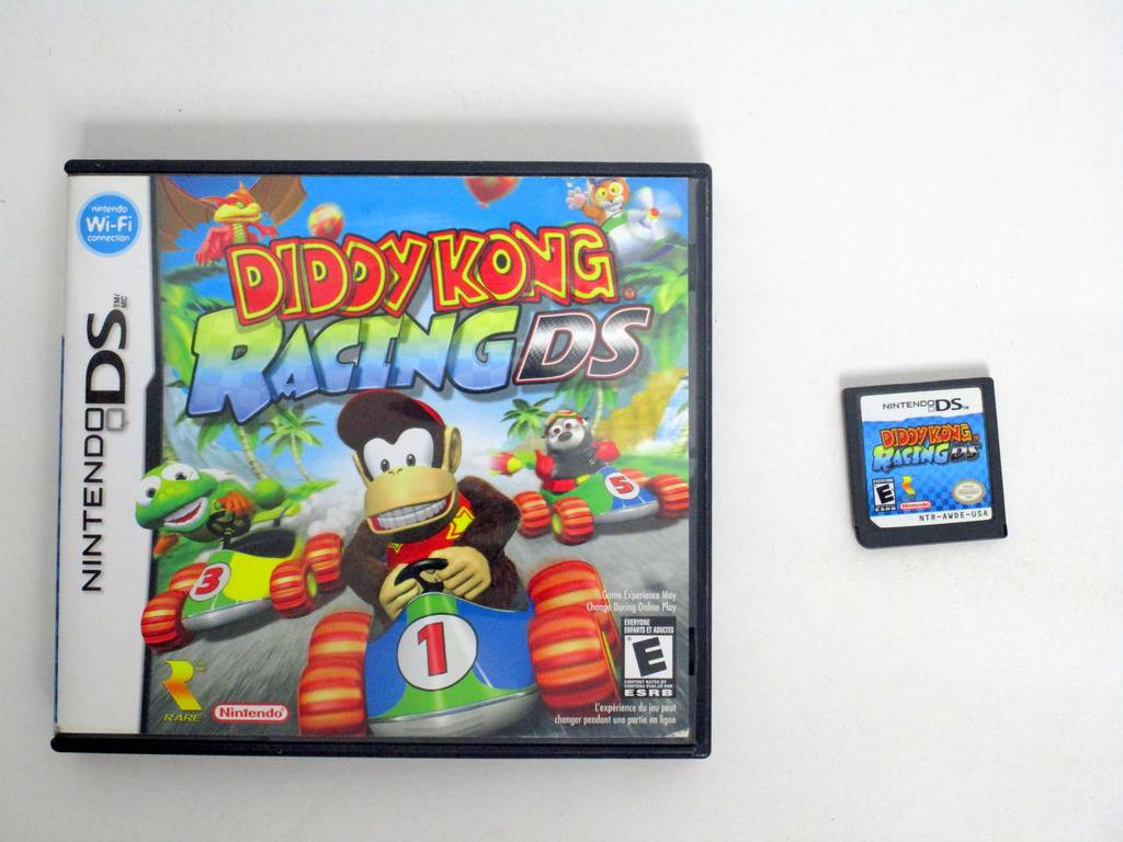 Diddy Kong Racing DS game for Nintendo DS -Game & Case