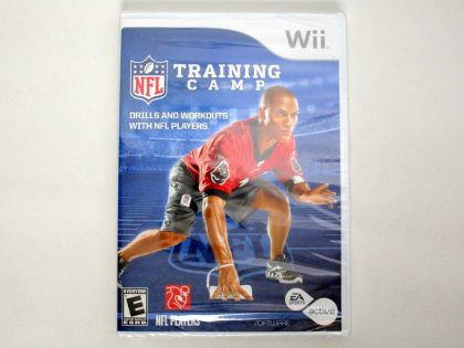 EA Sports Active NFL Training Camp game for Nintendo Wii -New
